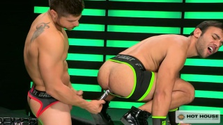 fabio acconi and dorian ferro fuck in neon green