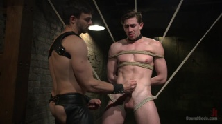 Mr. Maddox's Brutal Night of Slave Torment for Jack Hunter