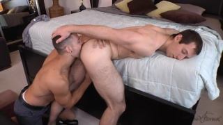 quinn gets todd's hole wet for his cock