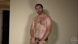 furry man james shows off