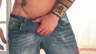spanish hunk sergio moreno peels off his jeans