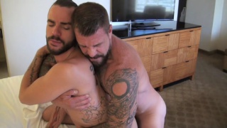 Lukas Cipriani bottoms for Rocco Steele