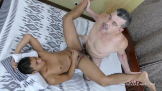 daddy finds josh jacking off in his bedroom