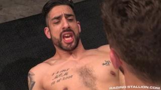 Logan Moore drills Samir Hott