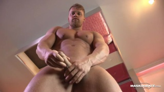 blond hunk brad has a beautiful uncut cock