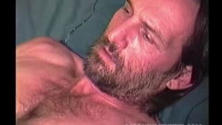 hairy man james jerking off