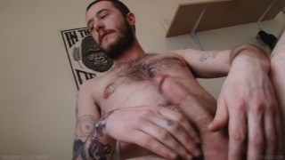 furry guy parker lang masturbates
