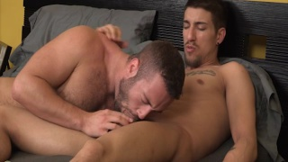 noah blows vin in his first guy-guy video
