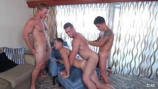 men at sea cruise ends with a gang bang