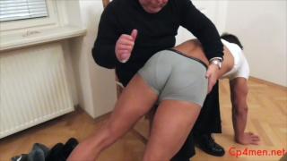 spanking Ennio Guardi's hot butt