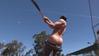 baseball jock jeremy strokes his cock