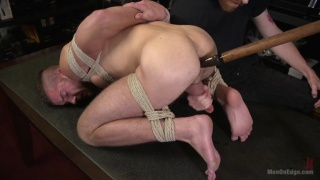 stud gets Private Edging Session on First Day of Work
