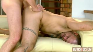David James takes Riley Tess' bare rod up his hole