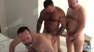 marc angelo plays with a pair of lovers