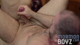 mormon lad fucks bishop with his big cock