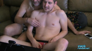 Wyatt is feeling real horny and shows off on cam