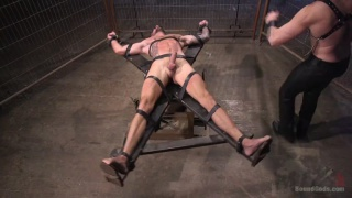 Trenton Ducati dominates Dolf Dietrich in his dungeon
