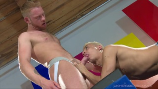 andro mass dominates and fucks cory prince