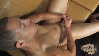 ripped stud Alessandro Lima jerks his dick