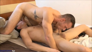 alek and mirek take care of morning wood