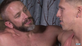 dirk teaches roman how to escort