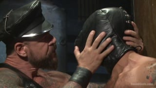 adam ramzi serves in rocco steele's dungeon