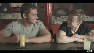 connor maguire picks up gabriel cross in a bar