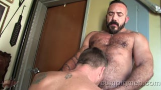 sucking off alessio romero's fat cock