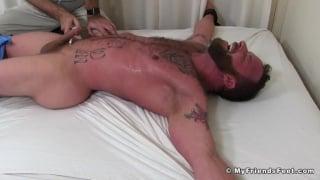 Derek Parker Bound and Tickled Naked