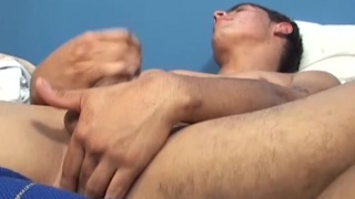 20-year-old marcos plays with his hole and masturbates
