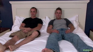 soldiers strip and jack off together