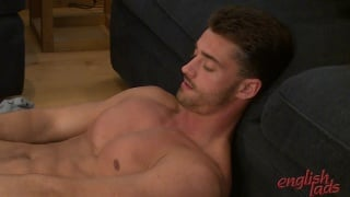 tall well-built young man in first JO flick