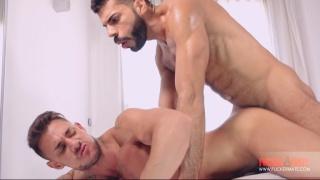 Sergyo doesn't waste time getting his huge dick inside Hugo