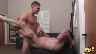 redhead curtis gets brodie's big dick