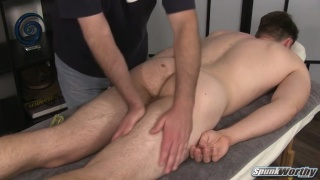 shane has no problems getting an erection
