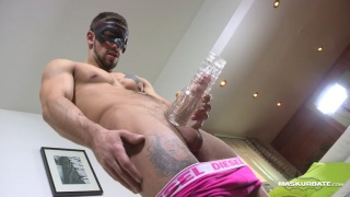 muscle hunk carl plays with fleshjack