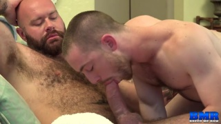 John Bedford's porn debut with luke harrington