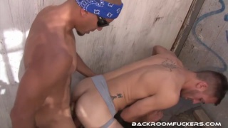 Antonio Biaggi fucks Dylan Hyde with his monster cock