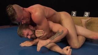 naked wrestlers Tomas Decastro and Nikol Monak