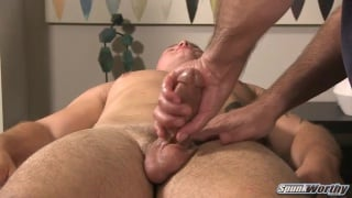 jayson finally returns for his handjob scene