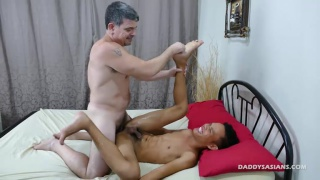 daddy mike fucks Asian twink Jordan