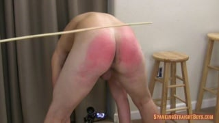 18-year-old straight boy bound and spanked