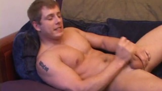 tommy d jerks his dick