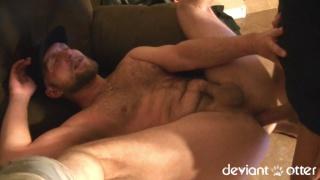 muscular straight dude fucks deviant otter