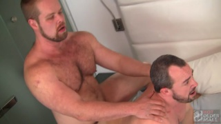 Bryan Knight  fucks bottom daddy Eric Schwanz