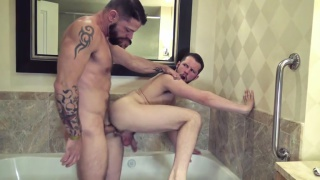 cum dump hotel with Asher Devin and Tex Davidson