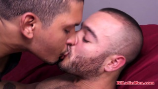 gorgeous latin guy gets his ass fucked