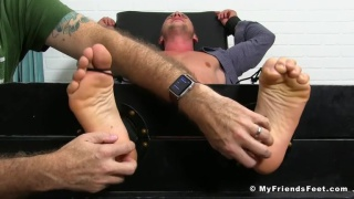 Gym Executive Kenny Tickled till he howls