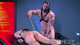 Alexander Gustavo and Jaxton Wheeler at Fisting Central