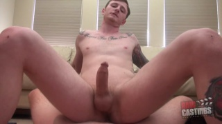 gay-for-pay guy from kentucky in his porno audition